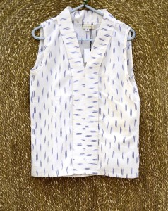 Ikat White Top