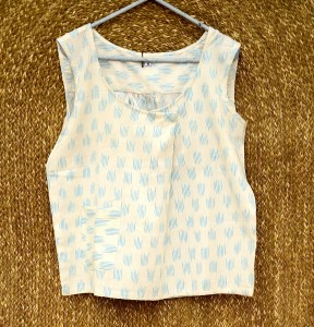Ikat Small Pocket Top